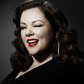 Melissa Mccarthy...not only one of our funniest performers, but also one of the world's most beautiful women. Go, plus-sized ladies, go!