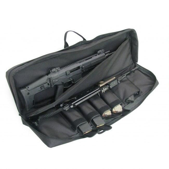 "This is such an awesome case for taking multiple AR-15s to the range. AMS Discreet Tactical Rifle Case 38"" Black"