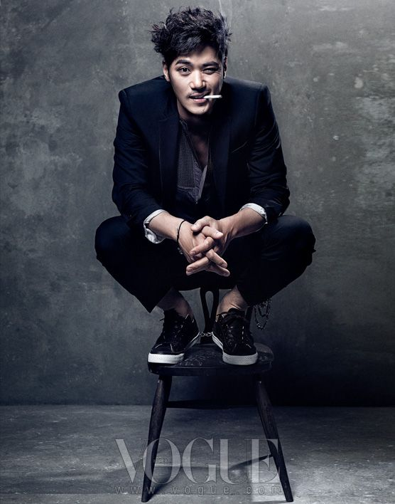 Joo Jin Mo, Jung Woo Sung, Kim Kang Woo, Yoo Seung Ho, and More in Vogue Korea August 2012