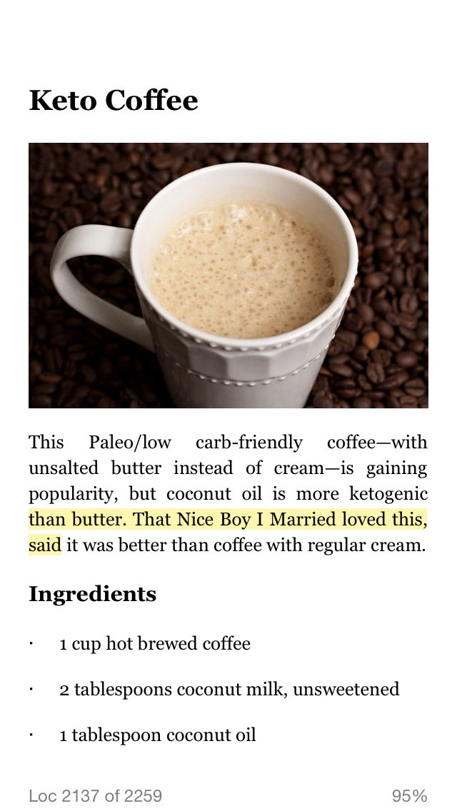Ketogenic Diet Coffee Creamer   All Articles about Ketogenic Diet