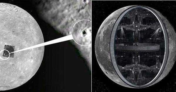 Several strange phenomena have let some to believe that the eternal companion of the Earth, the Moon, is in fact some sort of a huge spaceship. Crazy ...