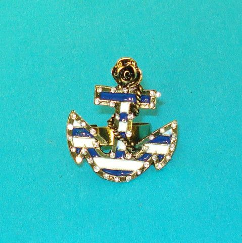 Anchors Away Ring - Mookie Designs