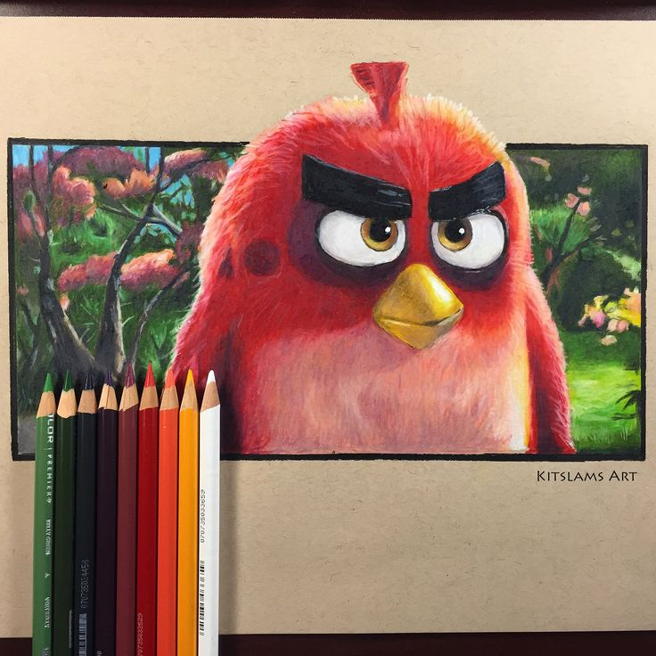 https://flic.kr/p/PmKBzu | Opposite Hand drawing | RED | Angry Birds | It's my drawing of Red from the Angry Birds with my Opposite Hand. Watch on YouTube: https://youtu.be/lynjaVnuVxk #angrybirds #red #oppositehand #drawing