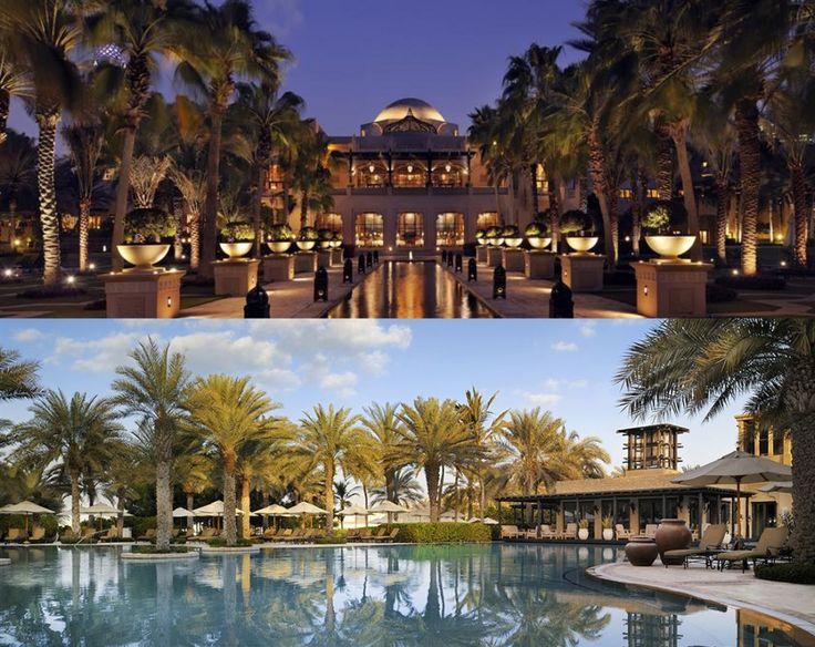 Hôtel One & Only Royal Mirage Dubai http://www.oneandonlyresorts.com/#royal-mirage via http://leblogdefiancee.com/des-hotels-a-decouvrir-en-amoureux/