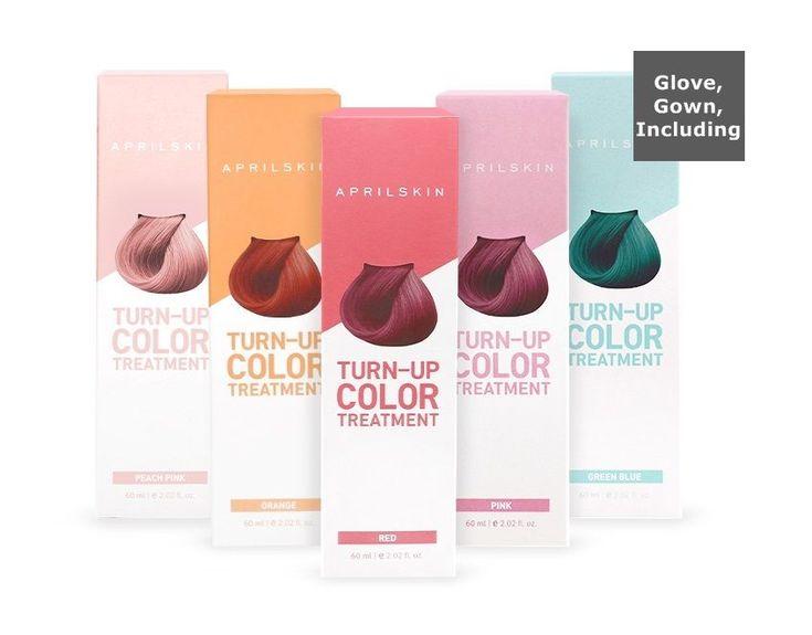 April skin Turn Up Color Treatment (Hair Dye + Treatment) #Aprilskin