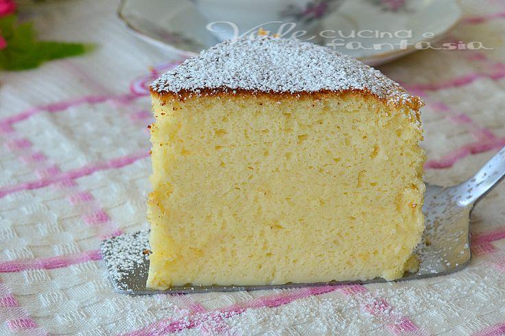 Torta soufflè alla ricotta, una ricetta per una torta sofficissima, si scioglie in bocca ed ottima per la colazione e la merenda,ideale da sola o con frutta