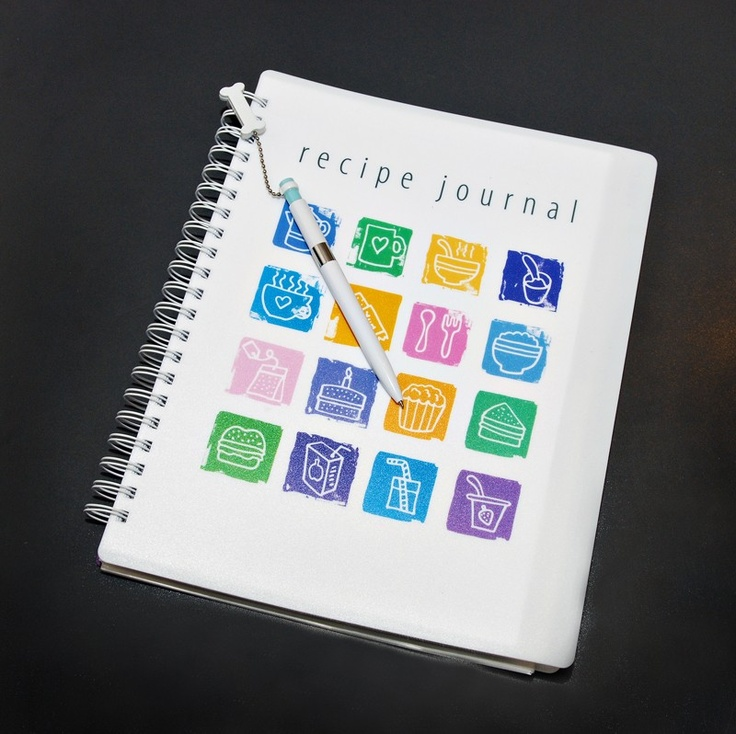 New A4 Recipe Journal