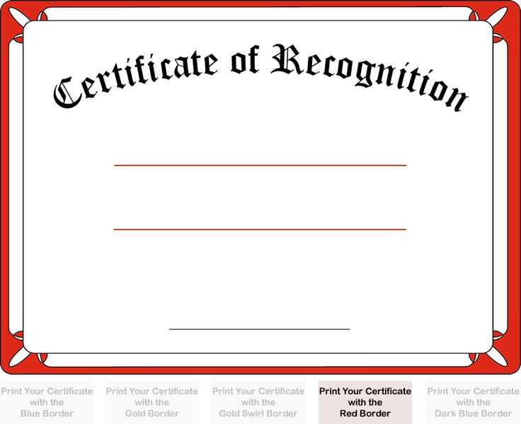 The 25+ best Sample certificate of recognition ideas on Pinterest - free download certificate borders