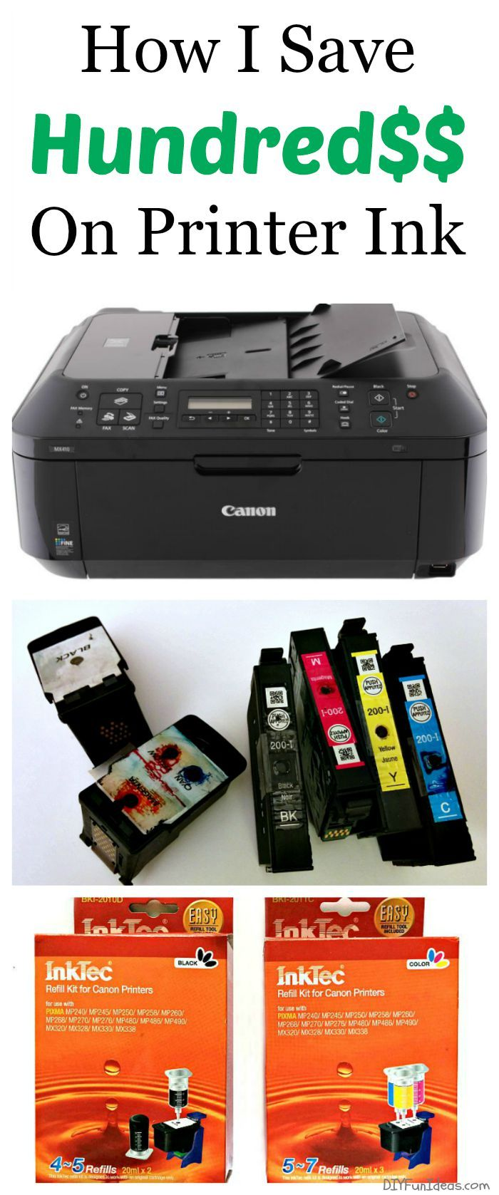 With back to school going on, it's time to start saving. Here's HOW I SAVE HUNDRED$$ ON PRINTER INK........Most popular posts!