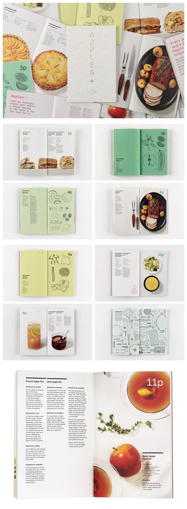 """The """"Apples +"""" cookbook, created by Leo Burnett for its employees, won an Outstanding Achievement award in HOW's In-house Design Awards 2013. Find out how you can enter for 2014 here: http://www.howdesign.com/design-competitions/in-house-design-awards/"""