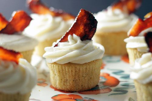 Bacon and Beer Cupcakes. 'Nuff Said. | Brit + Co.
