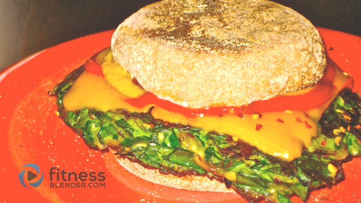 Spinach Burgers Recipe – Lean Green Vegetarian Burger Recipe