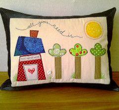 Applique Cushions Class Samples | Blogged: judith-justjude.b… | Flickr