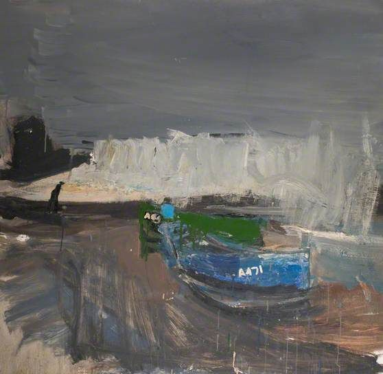 Joan Eardley - Green and Blue Boats