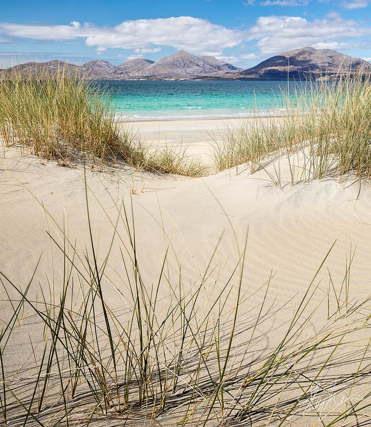 Luskentyre, Isle of Harris, Scotland by Pixelda