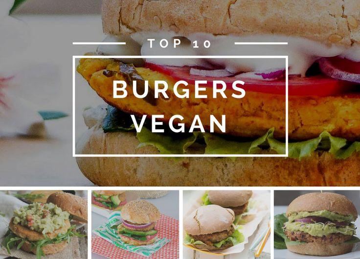 Que ceux qui pensent que les burgers vegan sont fades mettent leurs idées reçues de côté ! Voici les burgers vegan les plus alléchantes de la blogosphère !