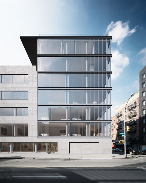 Images Released of Tadao Ando's First NYC Building