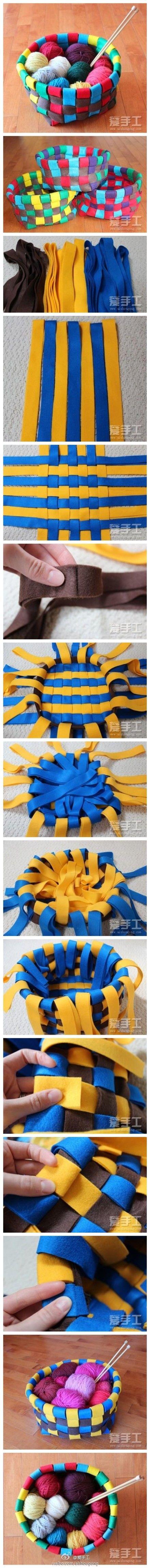 Cloth Basket DIY Projects | UsefulDIY.com