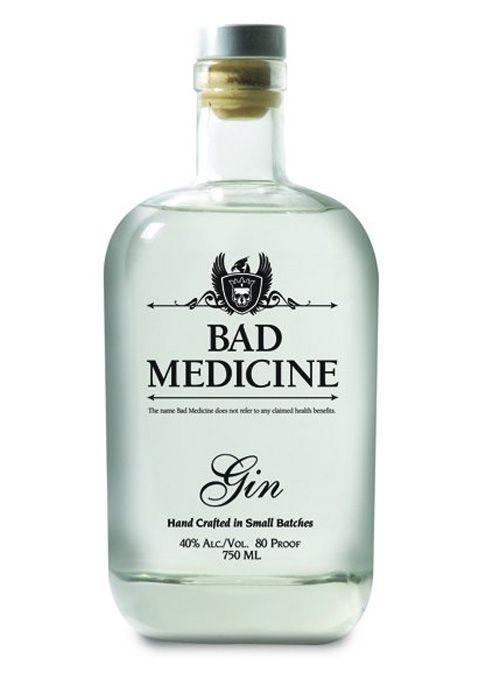 Panther Distillery's bad medicine Gin