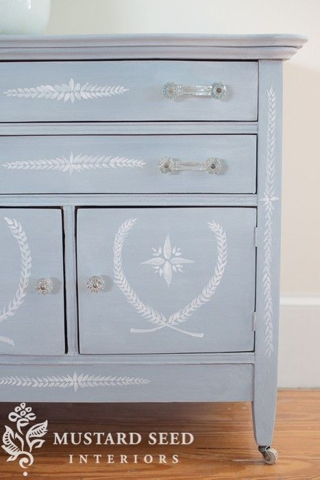 145 best mms hand painted furniture images on pinterest - Mustard seed interiors ...