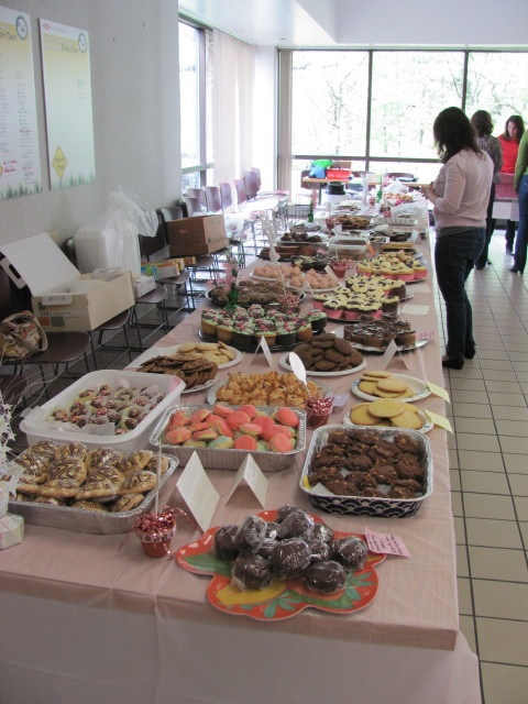 Dow Chemical wows us with wonderful desserts for their bake sale