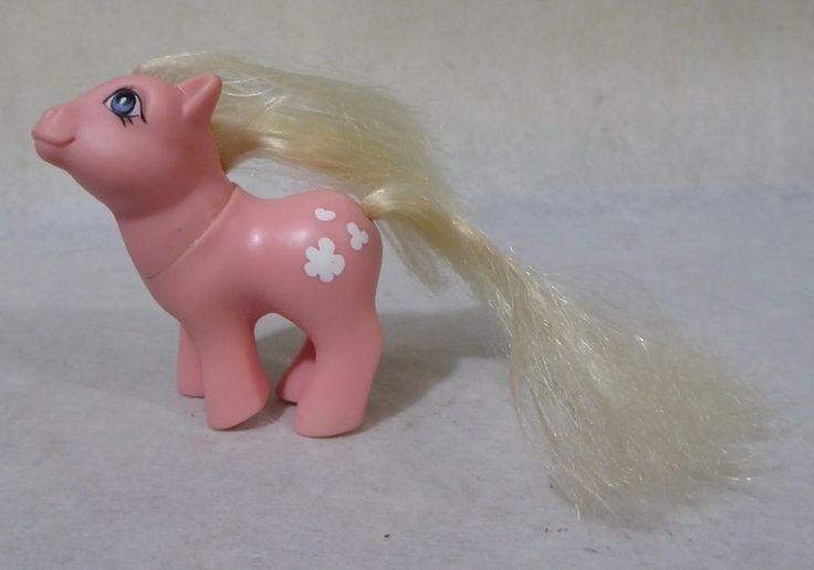 Vintage Baby Cotton Candy.My little pony.G1.Hasbro.BASA.PERU.1980s.