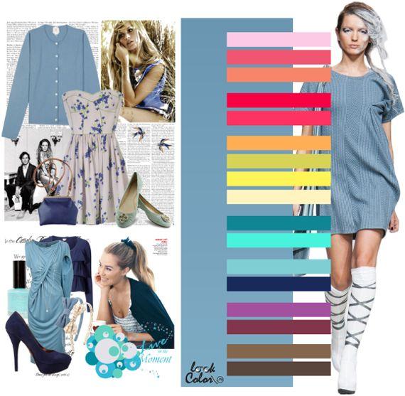Модные цвета 2011. Серо голубой цвет