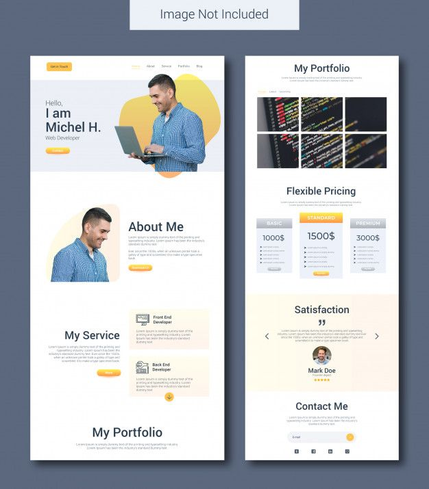 20 Free Professionally Designed Landing Page Templates 7