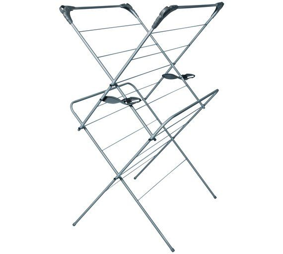 Buy Addis 2 Tier Indoor Airer at Argos.co.uk - Your Online Shop for Washing lines and airers, Laundry and cleaning, Home and garden.