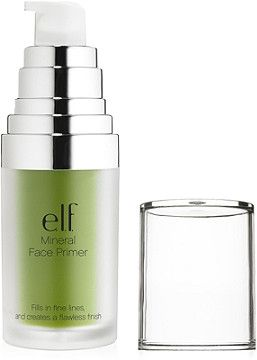 e.l.f. Cosmetics Online Only Mineral Infused Face Primer Neutralizing Green