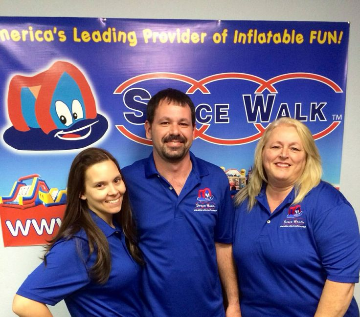 The SpaceWalk of East Alabama team. Call us at (256)581-0667 to book your next inflatable with us. Or go to herecomesfun.com for more information or to find a branch in your area. Great service, great rentals, excellent prices, and tons of fun!
