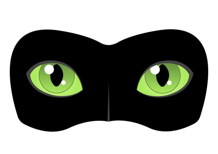 Black Cat Mask Tutorial