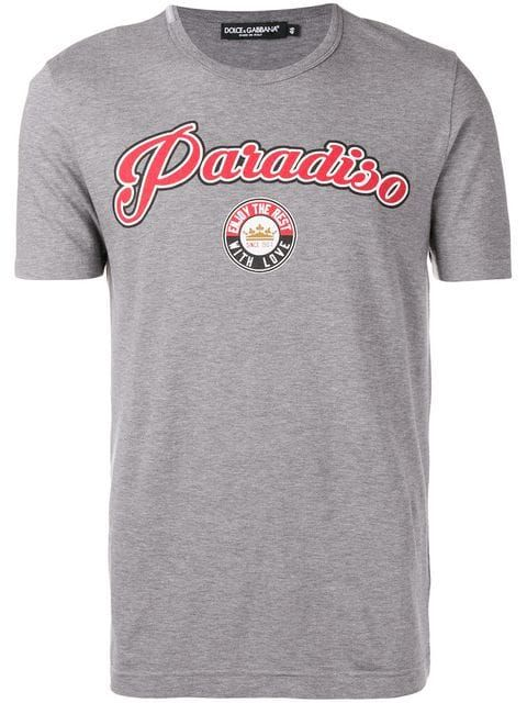 d213d0f47 DOLCE   GABBANA Paradiso print T-shirt.  dolcegabbana  cloth ...