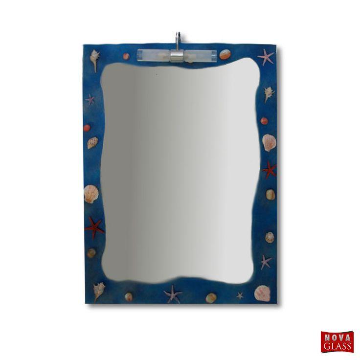 Καθρέπτης μπάνιου με φωτιστικό Νο 075