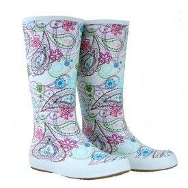 Paisley Gumboots