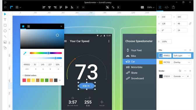 Get Lunacy Graphic Design Editor Sketch For Windows Microsoft Store User Experience Design Experience Design Create Icon