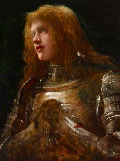 'Watchman, What of the Night'? (Dame Ellen Terry, 1847–1928) by George Frederic Watts (1817-1904)