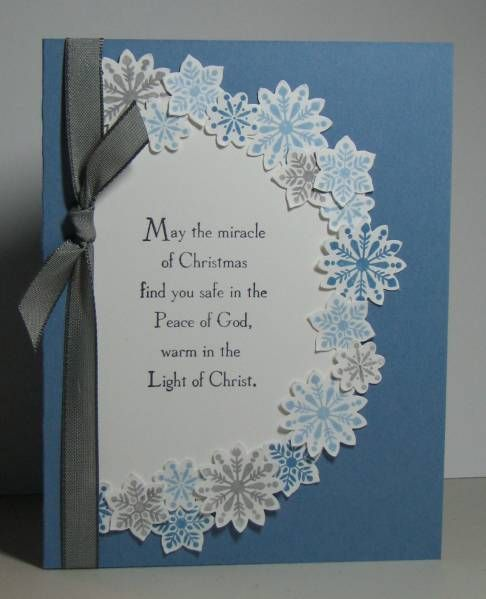 SUO God's Blessings Snowflakes by sophmad - Cards and Paper Crafts at Splitcoaststampers