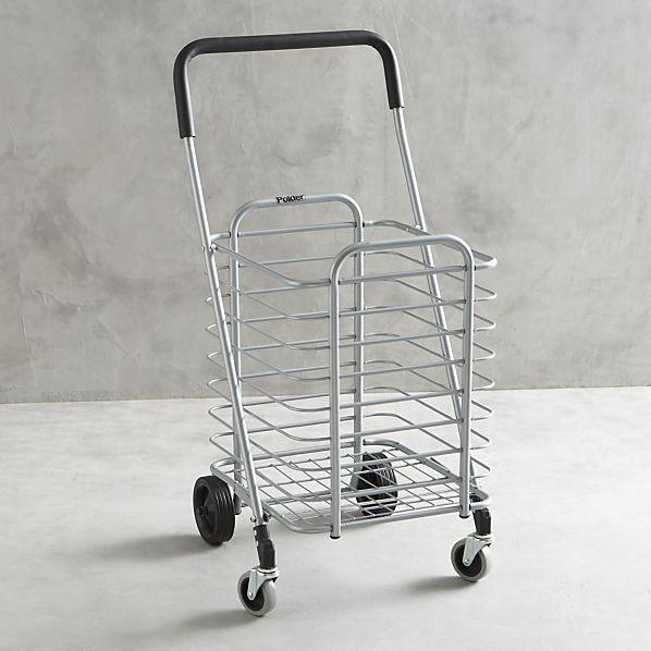 Polder ® Folding Shopping Cart   Crate and Barrel