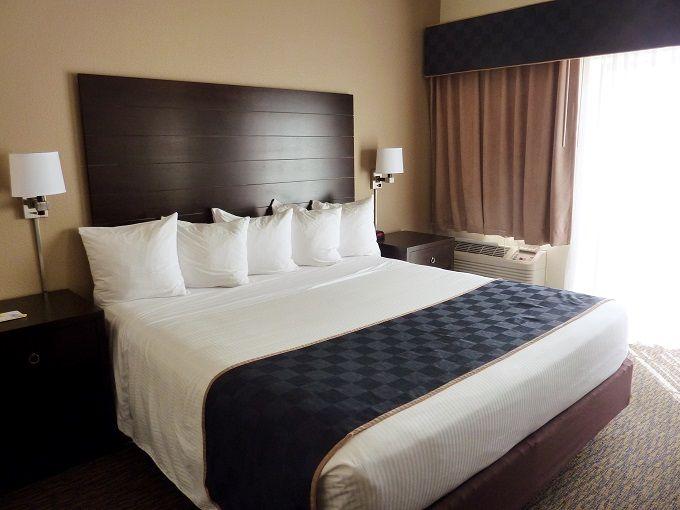 米国アリゾナ州ページの宿「デイズイン&スイーツ・ページ / パウエル湖」にて。Days Inn & Suites Page / Lake Powell in Page, Arizona, USA.