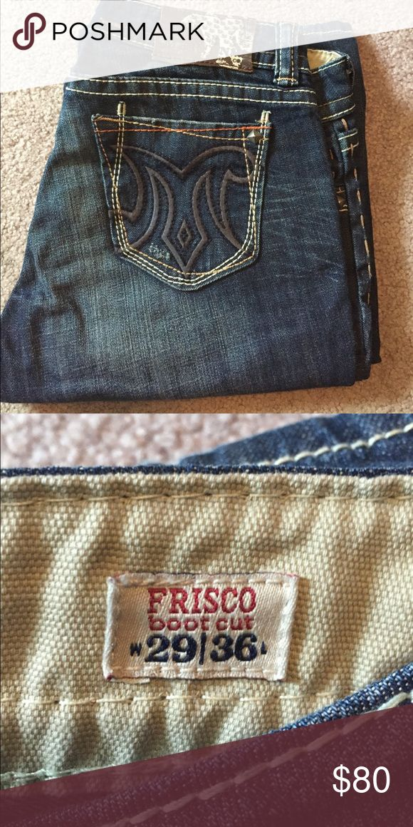 Mek jeans! Worn 1 time! Great condition! 29x36 MEK Jeans Flare & Wide Leg
