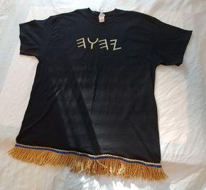 Gold Fringe Shirts