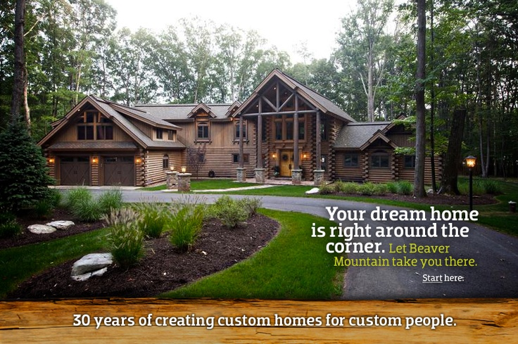 Luxury Log Homes: Dreams Houses, Beautiful Houses, Logs Cabinsgetaway, Houses Ideas, Logs Cabins Home, Cabins Ideas, Beavers Mountain, Luxury Logs, Logs Home