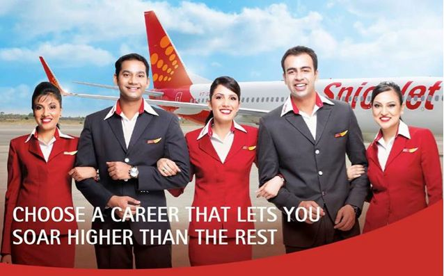 Cabin Crew / Flight Attendant   SPICE JET Recruitment-Cabin Crew / Flight Attendant (Female)-10/+2 jobs http://www.nationalskillindiamission.in/updates/2144/ Apply online  The eligibility for this job opening is the candidates having 10+2. Interested and qualified candidates should apply online in official SPICE JET website. The link for applying and how to apply SPICE JET Company India Freshers Jobs online is given