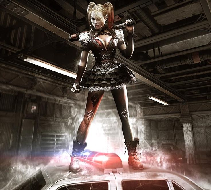 VIDEO GAMES: Info On The Harley Quinn Story DLC Revealed For BATMAN: ARKHAM KNIGHT