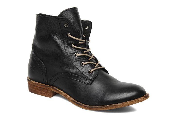 Multa Mustang shoes (Marron) : livraison gratuite de vos Bottines et boots Multa Mustang shoes chez Sarenza