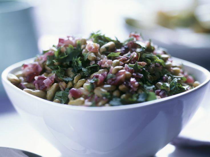 Bohnen-Zwiebel-Salat mit Petersilie - smarter - Zeit: 10 Min. | eatsmarter.de