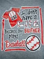 T-shirt #1 I'm planning to purchase to wear during this baseball season and many to come. :)