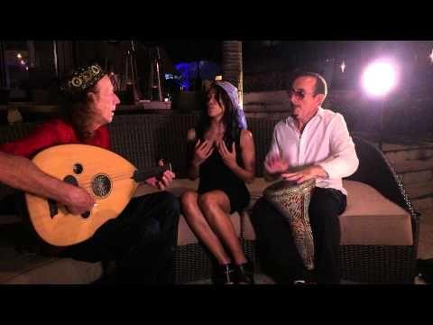 Rehearsing Arabic groove in Bali with Stephen L Harvey, Anello Capuano & Cherya Murja at the Mantra Sekala beach re...