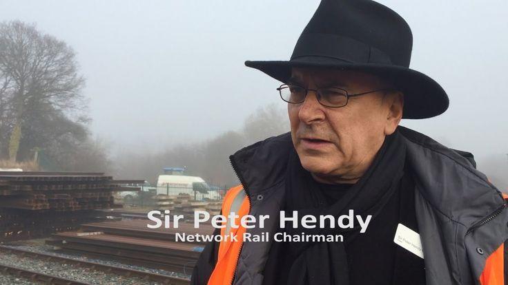 Heritage railway and Network Rail open new links at Robertsbridge